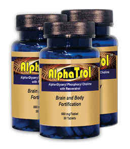 Each Tablet of AlphaTrol™ Contains: AlphaTrol Supplement Facts
